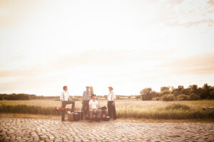 Monsieur Pompadour Gipsy Swing Bandfoto by Svea Poestges